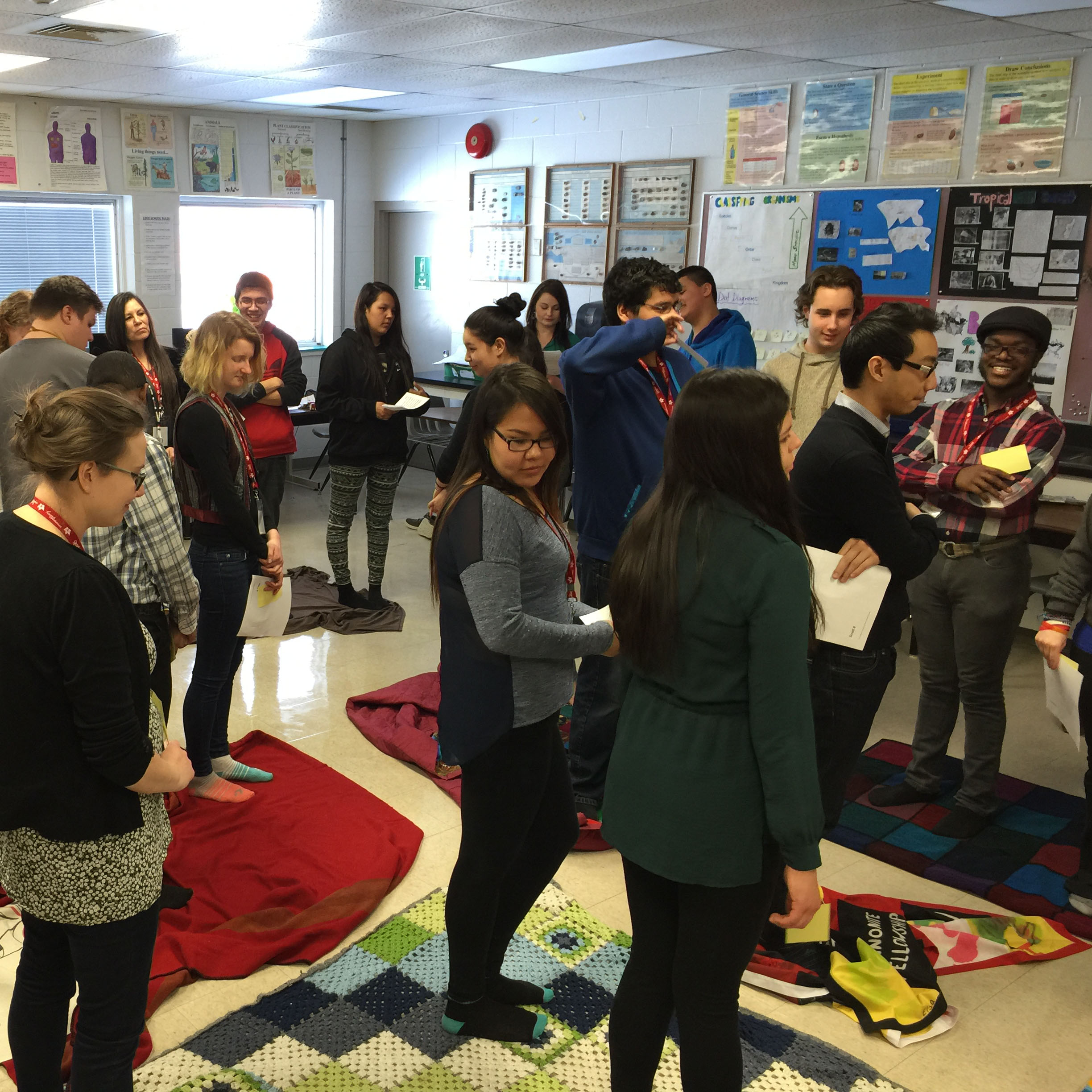 Unlearning Canada's history: The Blanket Exercise
