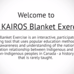 The KAIROS Blanket Exercise by Tessa Blaikie Whitecloud
