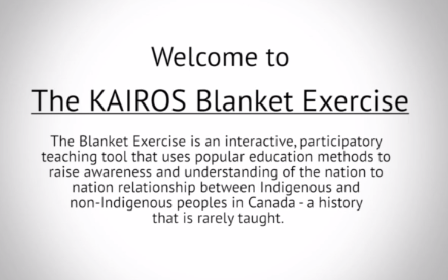 The KAIROS Blanket Exercise by Tessa Blaikie Whitecloud