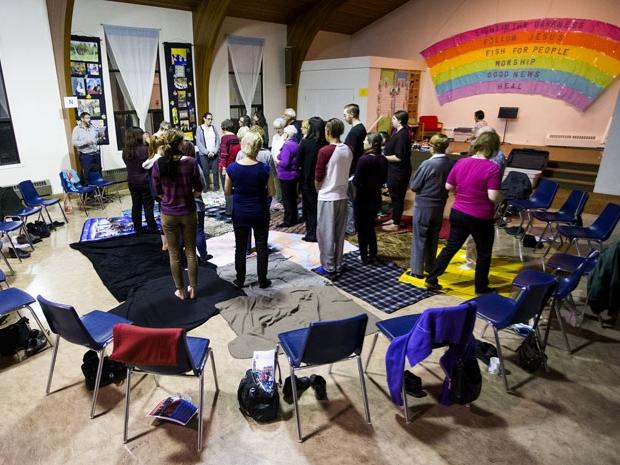 KAIROS Blanket exercise brings understanding and empathy