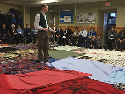 KAIROS Blanket Exercise in Orangeville Citizen