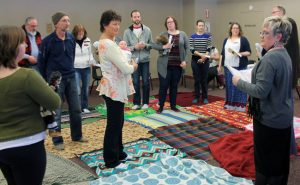 Blanket exercise opening eyes and minds