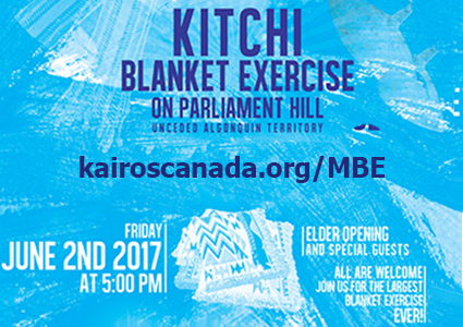 Live through history! Join us on June 2 for the largest Blanket Exercise ever!