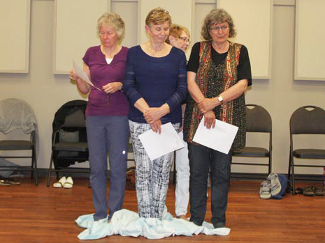 KAIROS Blanket Exercise at St. Paul's Anglican Church in Southampton on June 21, 2017.