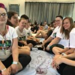"""800 students learn to """"combat racism and ignorance"""" through the KAIROS blanket exercise"""