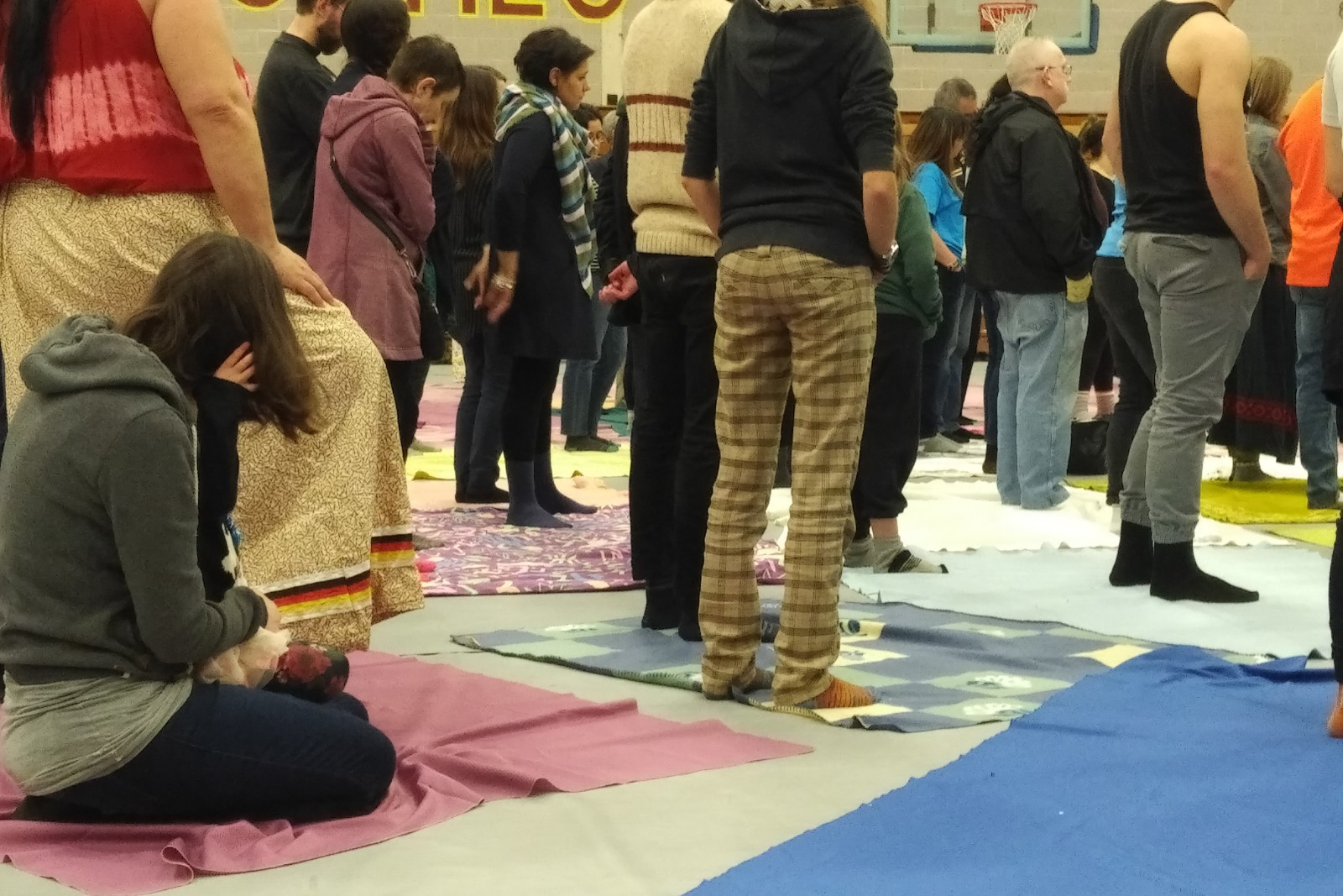 Mass Blanket Exercise