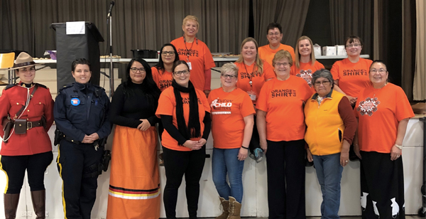 Reconciliation Nipawin's Orange Shirt Day committee