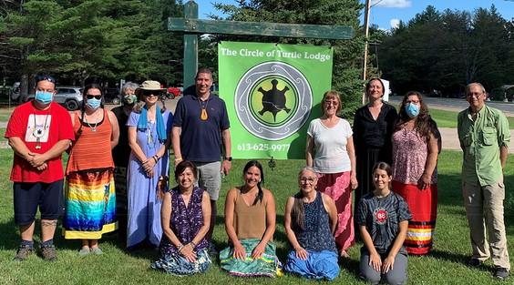 Circle of Turtle Lodge Facilitator Group